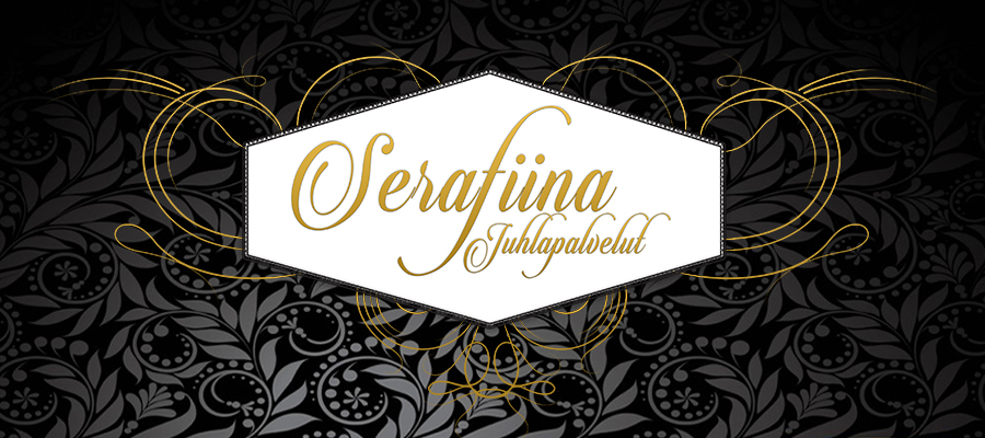 Serafiina-tummalogo